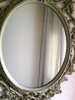 Hall mirror.