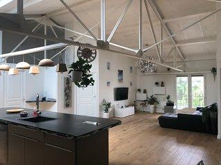 Loft de 120 m2 à 10 mn des plages et de Montpellier
