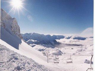 Trois pieces 6 pers. Balcons du soleil a Orcieres Merlette - Alpes du Sud