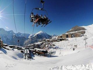 Deux pieces 6 pers au centre station a Orcieres Merlette - Alpes du Sud