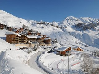 Maxi studio centre station et pieds des pistes a Orcieres Merlette - Alpes du Su