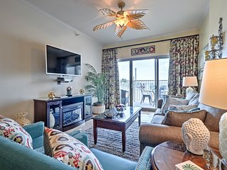 Lavish Beachfront Biloxi Condo w/Pvt Patio & Pool!