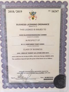 Current TCI Business License