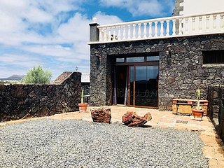 Casa Bellavista in Mozaga mit tollen Ausblick, Terrasse,Parkplatz,Wifi und Grill