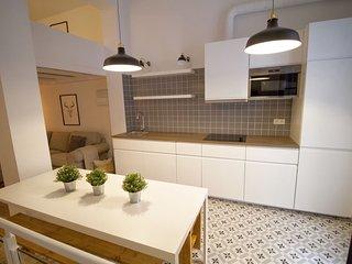 Apartamento moderno recién reformado, genial localización