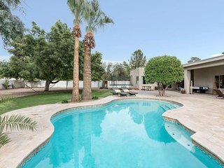 NEW LISTING! Remodeled home w/a private pool, built-in gas BBQ, on 1/2 acre lot!