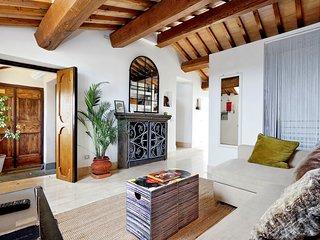 Pantheon luxury terrace attic
