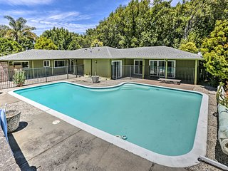 NEW! El Sobrante Home w/2 Acres & Pool By Berkeley