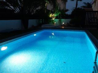 St Michael Mandali villa, Protaras, 3bedroom private pool, free wifi/aircon