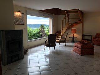 Domaine des songes - Maison Meublee quatre etoiles - Vue Lac proche des pistes