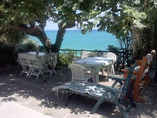 appartamento in villa sul mare