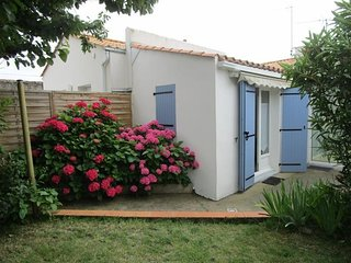 Centre,jardin clos ensoleille,terrasse