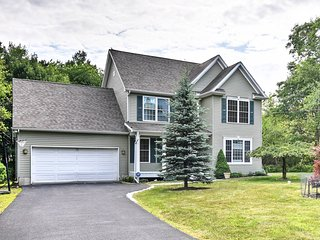 NEW! Quiet Long Pond Home w/Community Pool & Lake!