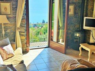 Beautiful house with stunning views of lake Como
