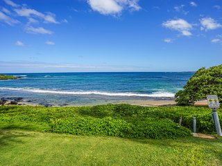 Kauai Kapaa Sands #10 Studio Direct Oceanfront Condo FREE WiFi FULL Kitchen !!