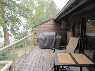 Renovated lakefront condo w/ deck, beach access & shared hot tub/sauna!