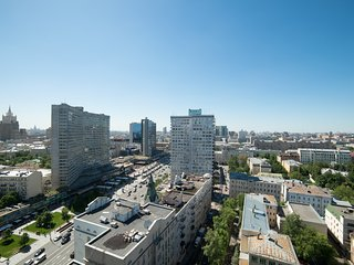 Best location in the center of Moscow. 20th floor.