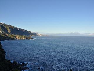 Traumhaftes Panorama direkt am Meer