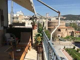 penthouse in thessaloniki's center