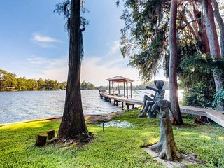 NEW LISTING! Lakefront home w/great views, boat launch & dock