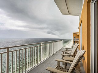 NEW! Beachfront Panama City Beach Condo w/Pools!
