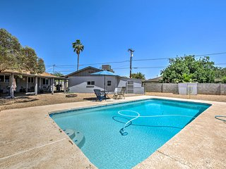NEW! Phoenix Guesthouse w/ Pool, Grill & Patio!