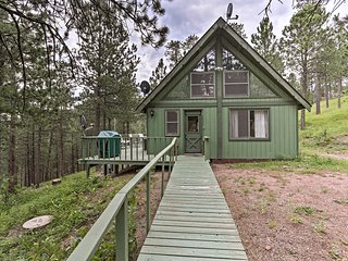 NEW! Black Hills Cabin w/Deck near Mt. Rushmore!