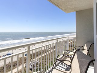 Oceanfront Suite for 6 with Private Balcony | 2 Pools + Hot Tub Access