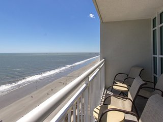Oceanfront Suite for 8 with Private Balcony | 2 Pools + Hot Tub Access