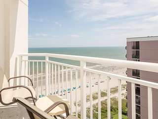 Ocean View Suite for 6 with Private Balcony | 2 Pools + Hot Tub Access
