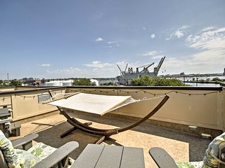 NEW-Baltimore Townhome w/Rooftop Patio &Water View
