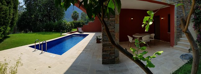 Garden, Pool and Terrace