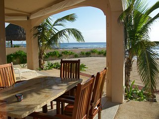 Enjoy breakfast listening to the ocean