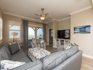 Oceanfront Corner Unit 421 at Cinnamon Beach! All New Furnishings!!!