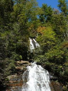 Anna Ruby Falls is just 10 minutes from our property.
