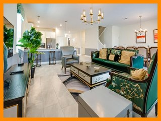Championsgate 232 - Modern villa with pool, game room and home theater near Disn