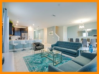Championsgate 403 - 5* villa with pool, home theater and game room near Disney