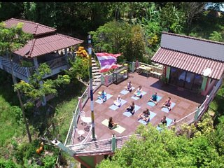 Room #11 Sun Art Center Mountainside Meditation and Yoga Retreat