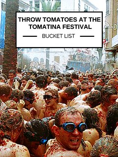 The Tomatina Festivan - One of the craziest and most world famous festivals is not too far away