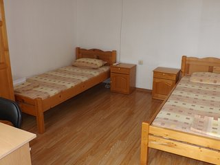 Double room with terrace and mountain view in Banya village, 6 km. from the sea