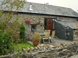 A spacious barn conversion with charming features near Looe