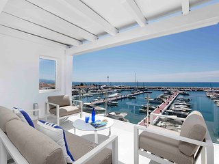 Amazing apartment in the heart of Banus harbour, Marbella, Spain