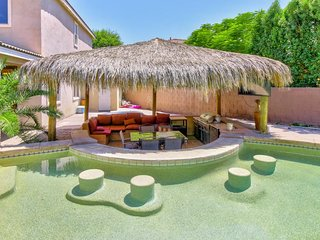 NEW LISTING! Entertainer's dream w/pool, cabana & game room - near golf & hiking