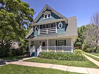 NEW! Historic Lake Geneva House - Walk to Main St!