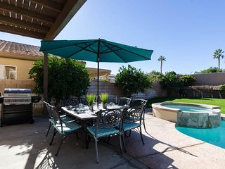 NEW LISTING! Sunny home w/private pool, hot tub & patio - near golf courses!