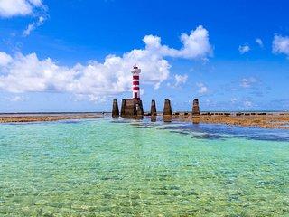 Luxuoso Beira-Mar em Ponta Verde - AP completo e melhor localizado de Maceió!