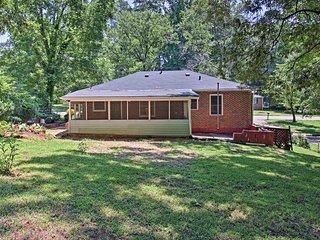 NEW! Cozy Home w/Yard - Mins to Downtown Atlanta!