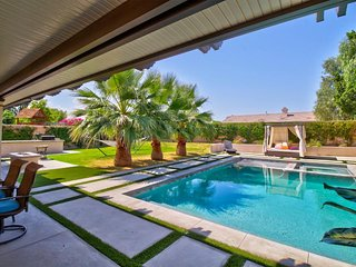 NEW LISTING! Modern home w/ large yard, private pool, & hot tub, in A+ location