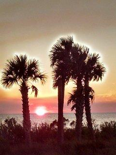 St.George island sunset