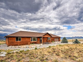 Buena Vista Home on 6.5 Acres w/Hot Springs Passes